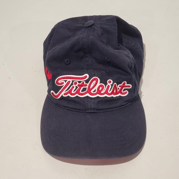 Titleist #1 Foot Joy Golf Strapback Hat FOOT JOY